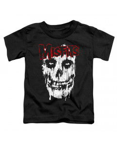 Misfits kids T-Shirt Face Red White