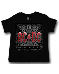 ACDC Baby T-shirt - Tee Black Ice AC/DC t-shirts