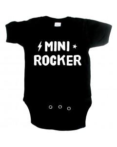 rock baby onesie mini rocker