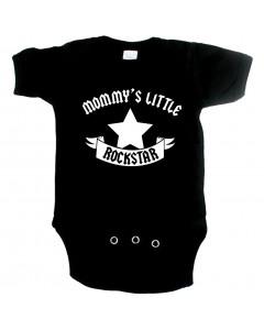 rock baby onesie mommy's little rockstar