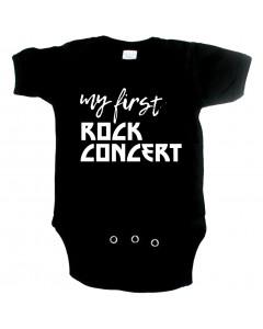 rock baby onesie my first rock concert