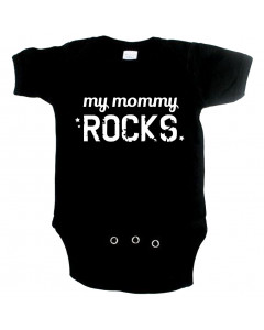 Cool Baby onesie my mommy rocks