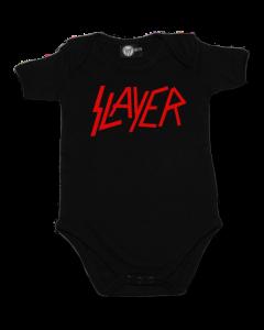 Slayer Onesie Baby Rocker Logo – metal onesies