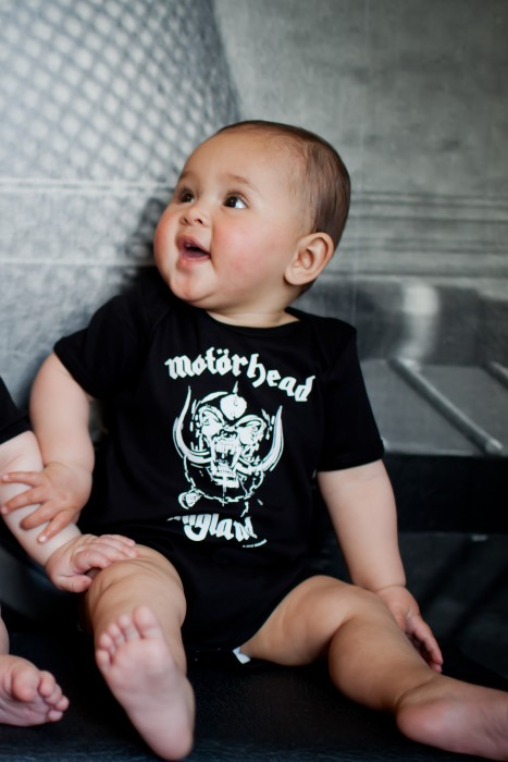 Metal Baby clothes